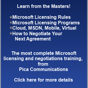 Windows Server 2016 Licensing Note, Pica Communications